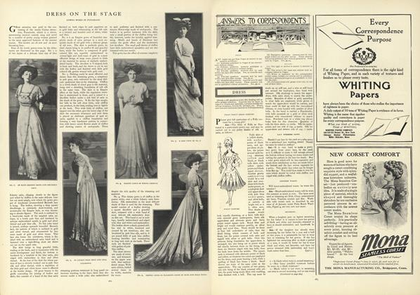 Article Preview: Answers to Correspondents, February 20 1908 | Vogue