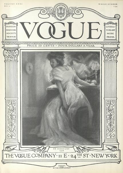 Issue: - February 27 1908 | Vogue