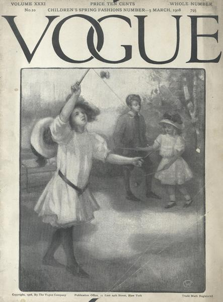 Issue: - March 5 1908 | Vogue