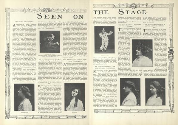 Article Preview: Seen on the Stage, March 5 1908 | Vogue