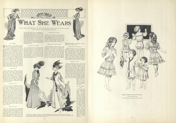 Article Preview: What She Wears, March 5 1908 | Vogue