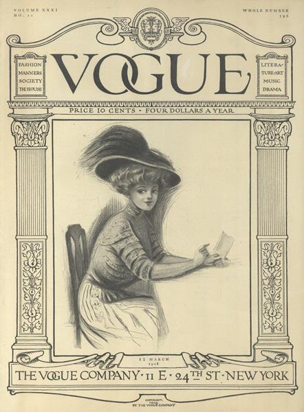 Issue: - March 12 1908 | Vogue
