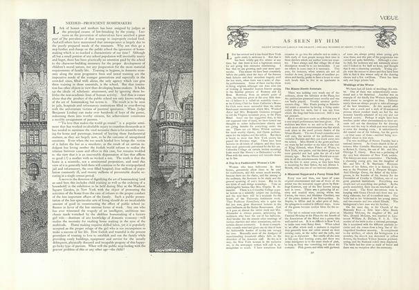 Article Preview: As Seen by Him, March 12 1908 | Vogue