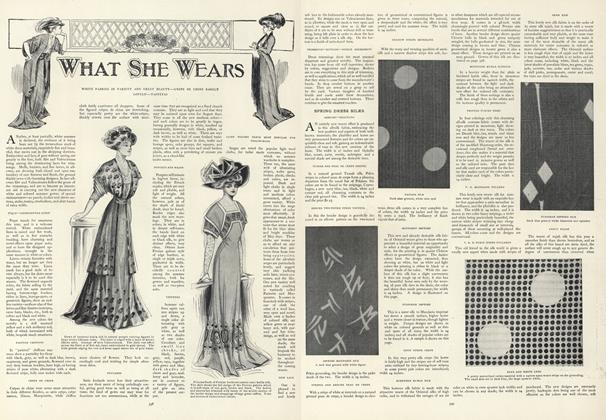 Article Preview: Spring Dress Silks, March 19 1908 | Vogue
