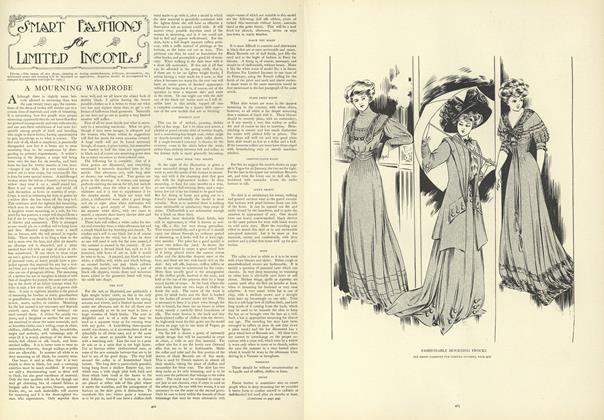 Article Preview: Smart Fashions for Limited Incomes, March 19 1908 | Vogue