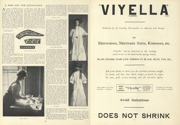 Article Preview: A New Use for Stenciling, March 19 1908 | Vogue