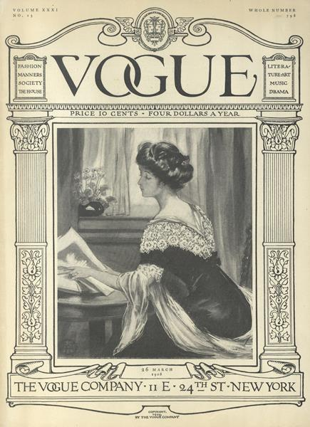 Issue: - March 26 1908 | Vogue