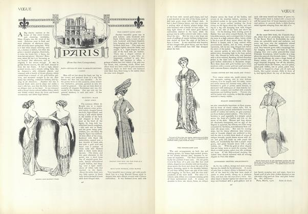 Article Preview: Paris (From Our Own Correspondent), March 26 1908 | Vogue