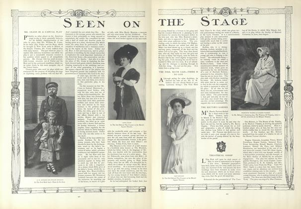 Article Preview: Seen on the Stage, March 26 1908 | Vogue
