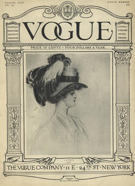 Issue: - April 2 1908 | Vogue