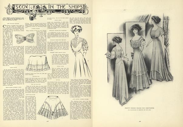 Article Preview: Seen in the Shops, April 2 1908 | Vogue