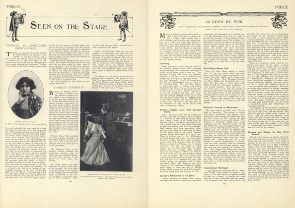 Article Preview: As Seen by Him, April 2 1908 | Vogue