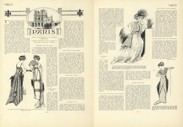 Article Preview: Paris (From Our Own Correspondent), April 2 1908 | Vogue