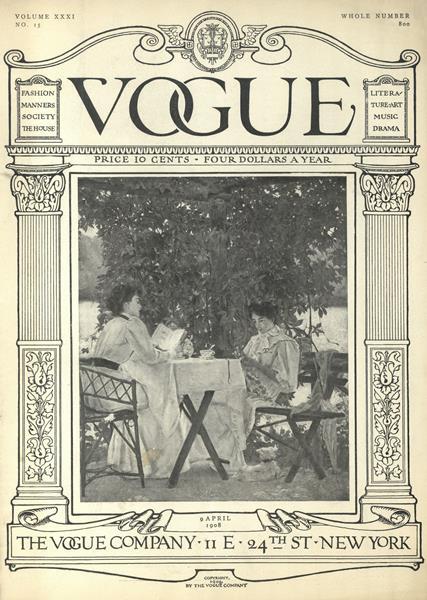 Issue: - April 9 1908 | Vogue