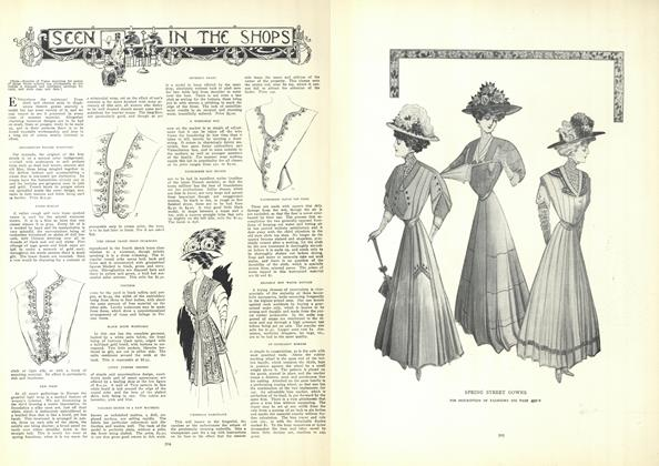 Article Preview: Seen in the Shops, April 9 1908 | Vogue
