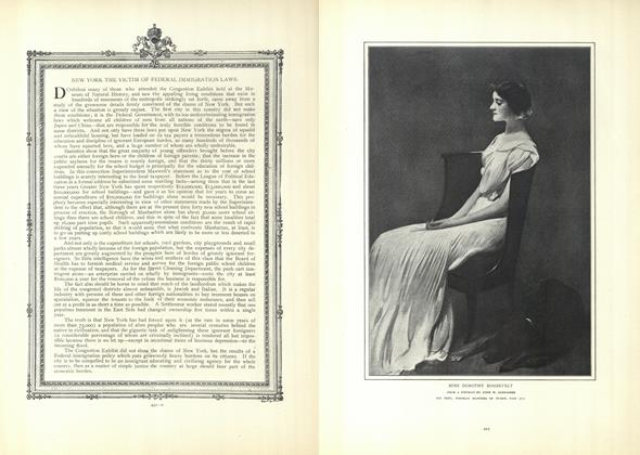 Article Preview: New York the Victim of Federal Immigration Laws, April 9 1908 | Vogue