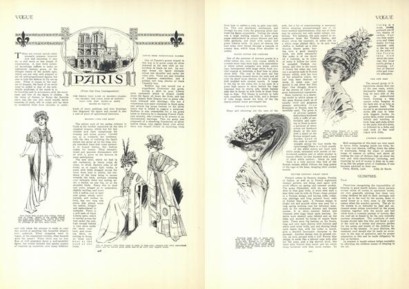 Article Preview: Paris (From Our Own Correspondent), April 9 1908 | Vogue