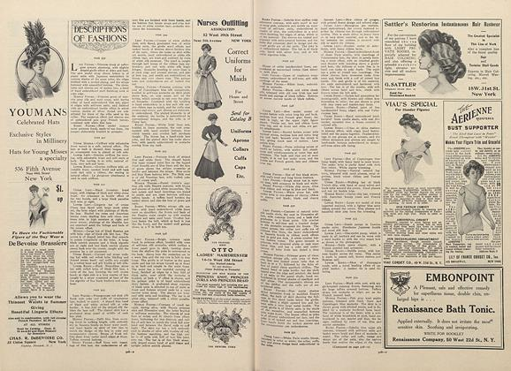 Article Preview: Descriptions of Fashions, April 16 1908 | Vogue