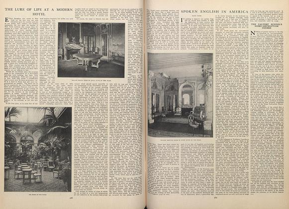 Article Preview: The Lure of Life at a Modern Hotel, April 16 1908 | Vogue