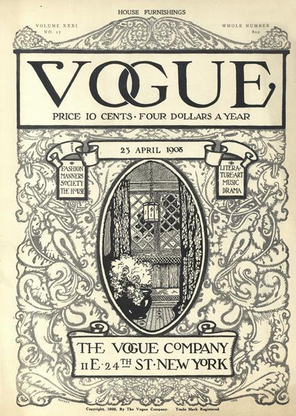 Issue: - April 23 1908 | Vogue