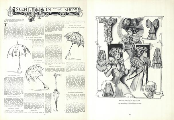 Article Preview: Seen in the Shops, April 30 1908 | Vogue