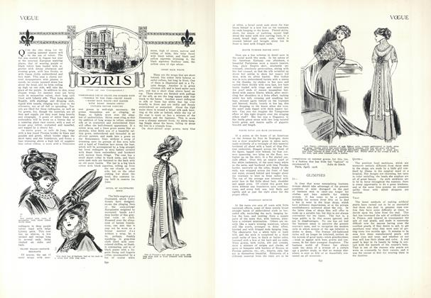 Article Preview: Paris (From our own Correspondent), April 30 1908 | Vogue