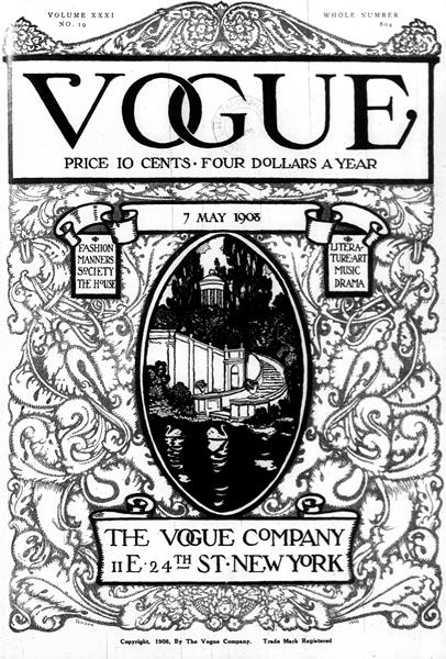 Issue: - May 7 1908 | Vogue