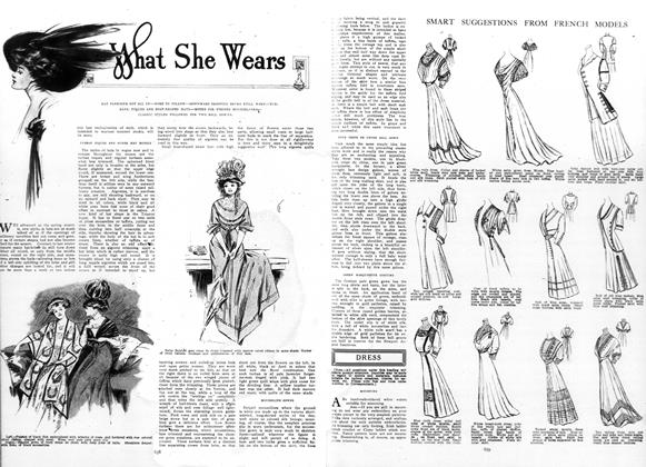 Article Preview: Whats She Wears, May 7 1908 | Vogue