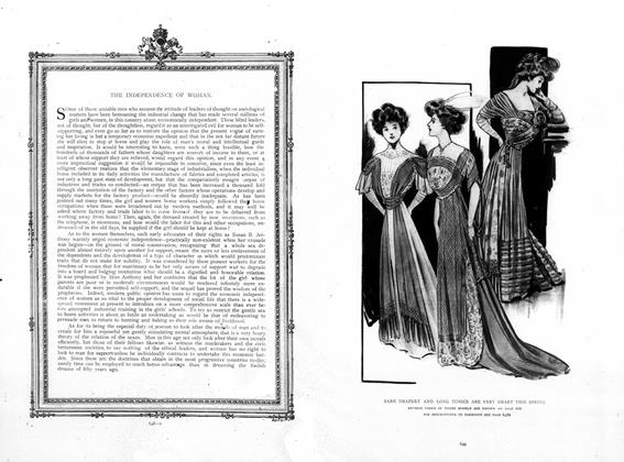 Article Preview: The Independence of Women, May 7 1908 | Vogue