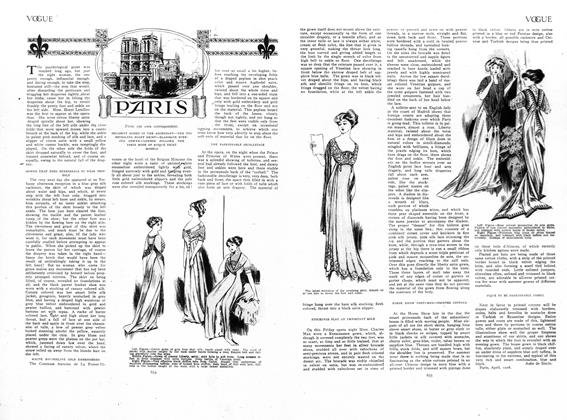 Article Preview: Paris, May 7 1908 | Vogue