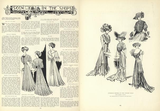 Article Preview: Seen in the Shops, May 14 1908 | Vogue