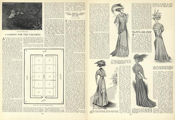 Article Preview: Little Health Suggestions for the Growing Girl, May 14 1908 | Vogue
