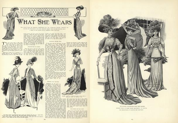 Article Preview: What She Wears, May 14 1908 | Vogue