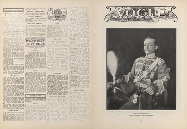 Article Preview: Society, May 28 1908 | Vogue