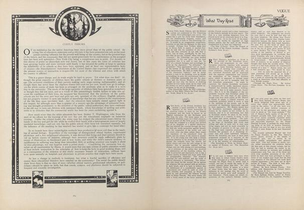 Article Preview: What They Read, May 28 1908 | Vogue