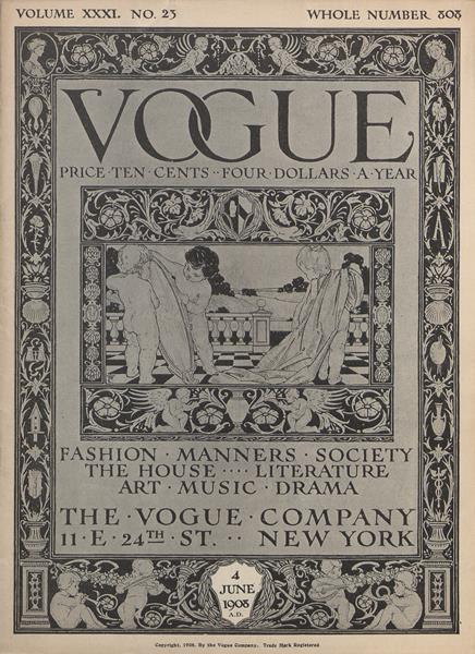 Issue: - June 4 1908 | Vogue