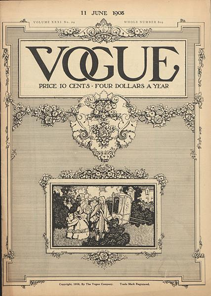 Issue: - June 11 1908 | Vogue