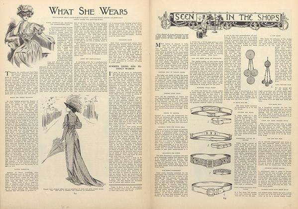 Article Preview: Seen in the Shops, June 11 1908 | Vogue