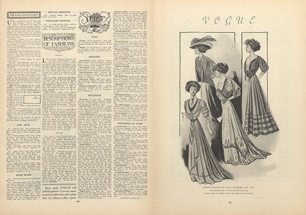 Article Preview: Society, June 11 1908 | Vogue