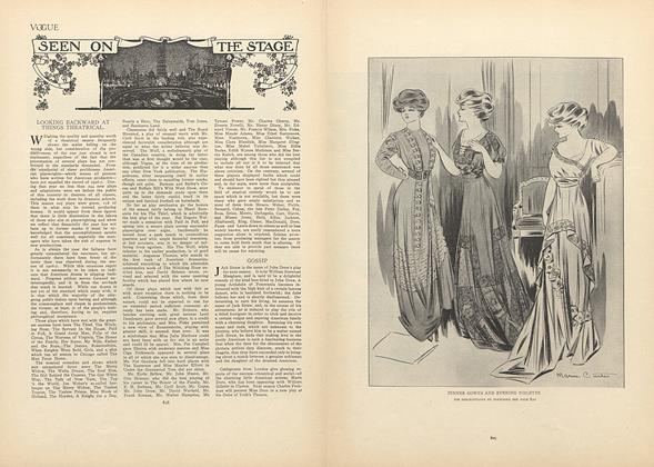 Article Preview: Seen on the Stage, June 11 1908 | Vogue