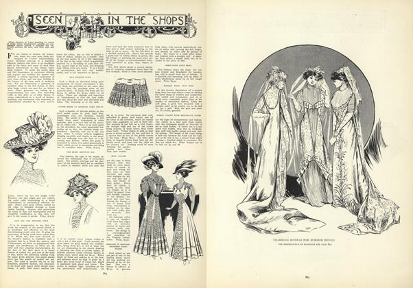 Article Preview: Seen in the Shops, June 18 1908 | Vogue