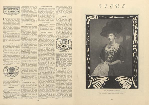 Article Preview: Society, June 25 1908 | Vogue