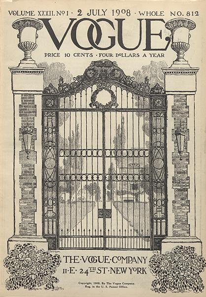 Issue: - July 2 1908 | Vogue