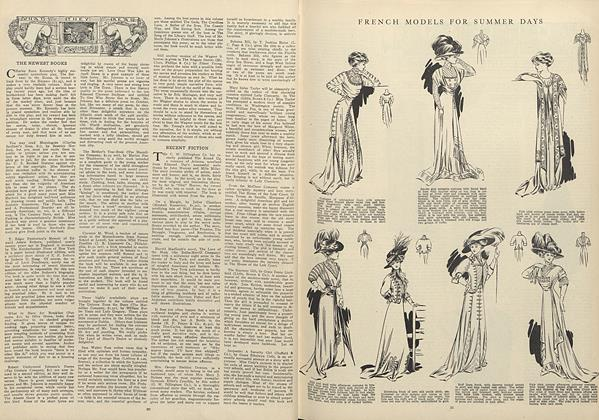 Article Preview: What They Read, July 2 1908 | Vogue