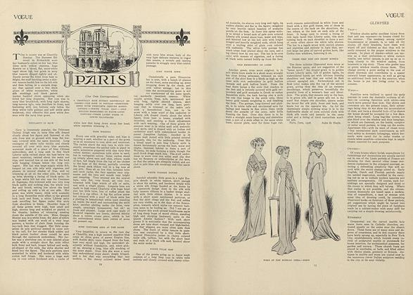 Article Preview: Paris (From Our Own Correspondent), July 2 1908 | Vogue