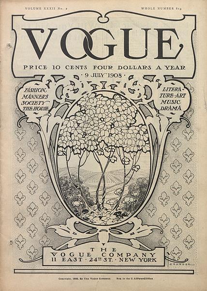 Issue: - July 9 1908   Vogue