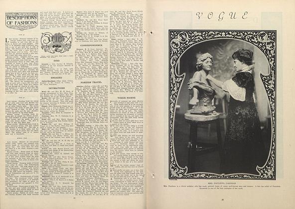 Article Preview: Society, July 9 1908 | Vogue