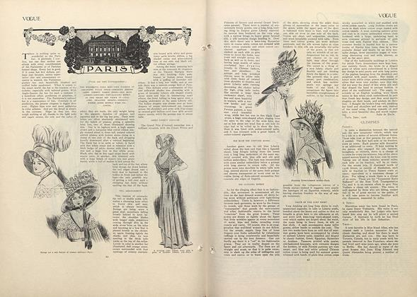 Article Preview: Paris (From Our Own Correspondent), July 9 1908 | Vogue