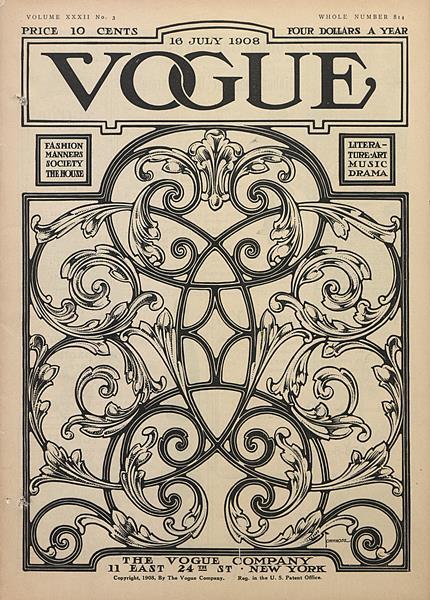 Issue: - July 16 1908 | Vogue