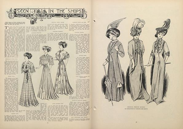 Article Preview: Seen in the Shops, July 16 1908 | Vogue